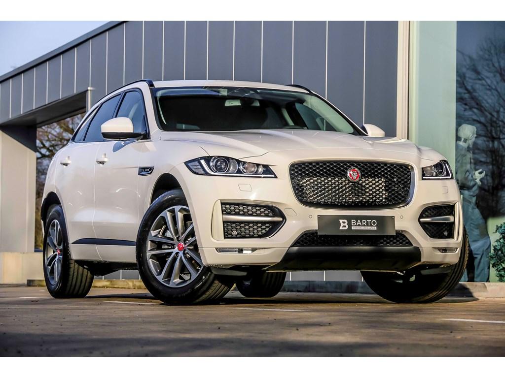 Tweedehands te koop: Jaguar F-Pace Wit - R-Sport - Navi - Camera - NIEUW - Donker glas - 19 Bicolor velgen