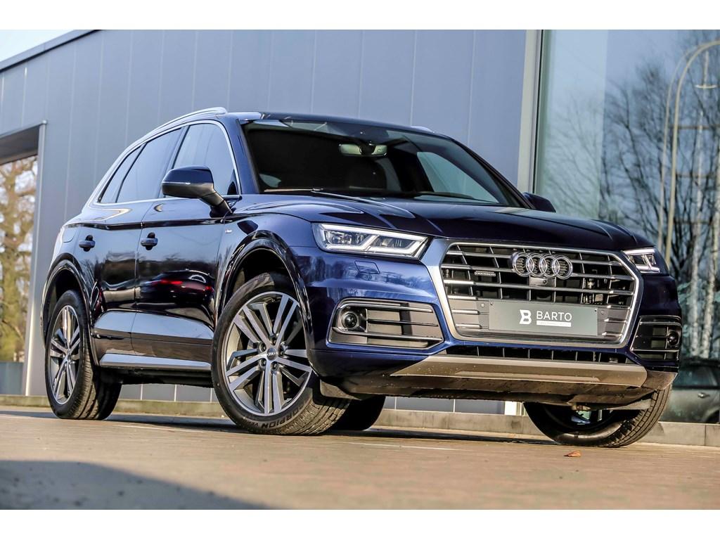Tweedehands te koop: Audi Q5 New Blauw - Full S-line - Virt Cockp - 360 cam - Adapt CC - Matrix -