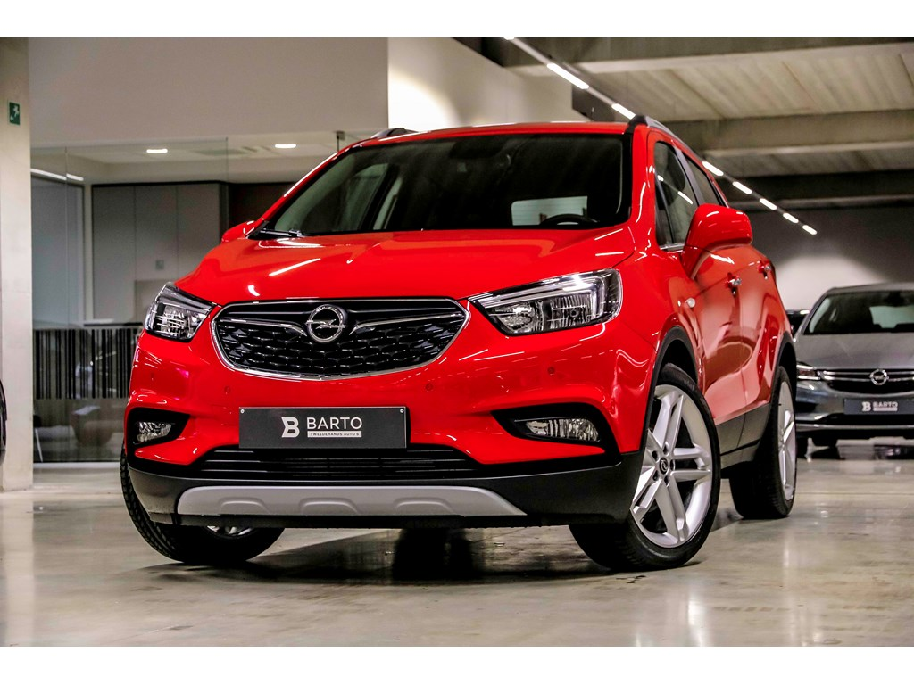 Tweedehands te koop: Opel Mokka Rood - 14 Turbo Innovation - AUTOMAAT - DEMO - Camera - Leder - Navi -