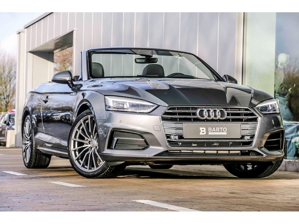 Tweedehands te koop: Audi A5 New Grijs - Sport - Leder - 19 - Virt Cockpit - Promo