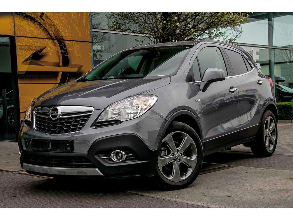 Tweedehands te koop: Opel Mokka Grijs - 17d 130pk - Leder - Navi - Aut Airco - Trekhaak -