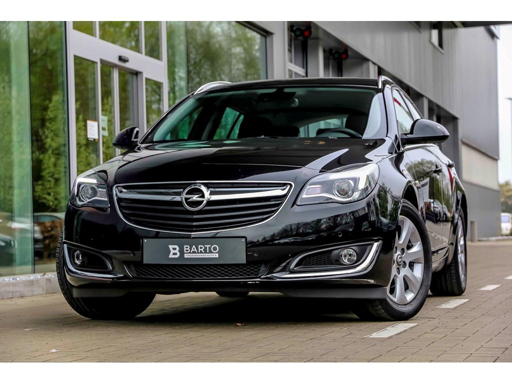 Opel-Insignia-Zwart-16d-136PK-Navi-Auto-Airco-Bluetooth-Auto-Lichten-Regensens-