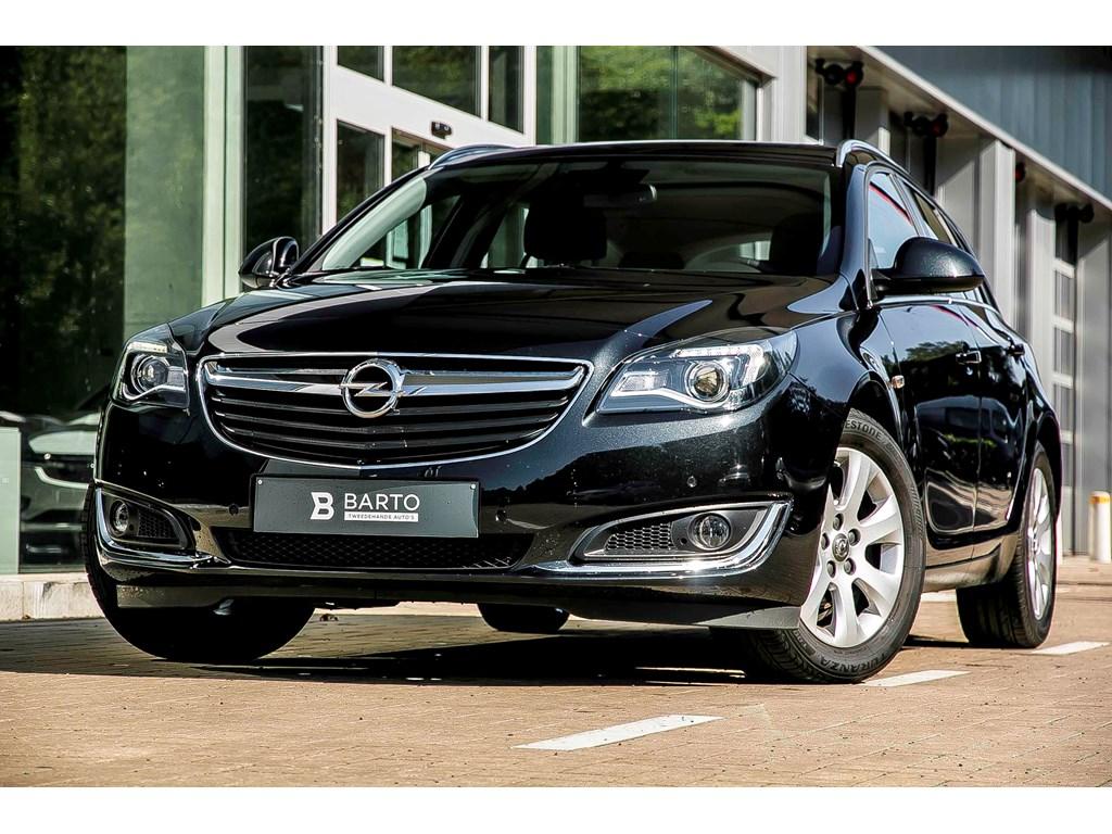 Tweedehands te koop: Opel Insignia Zwart - 16d 136PK - Navi - Auto Airco - Regensens - Bluetooth -