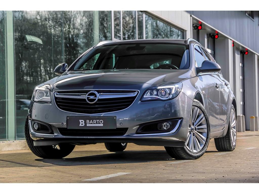 Tweedehands te koop: Opel Insignia Grijs - 16d 136pk - Automaat - Erg Ledere zetels - Xenon - Parkeersens va -
