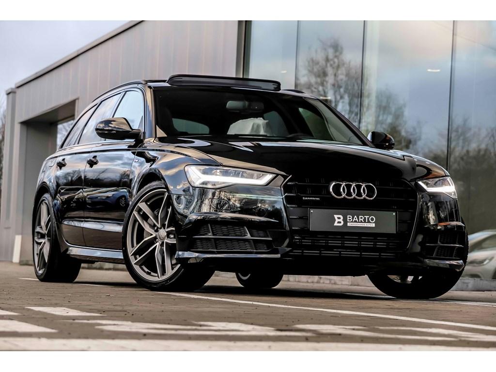 Tweedehands te koop: Audi A6 Zwart - V6 272pk - RS zetels - Pano - 20 Bicolor - Nieuw