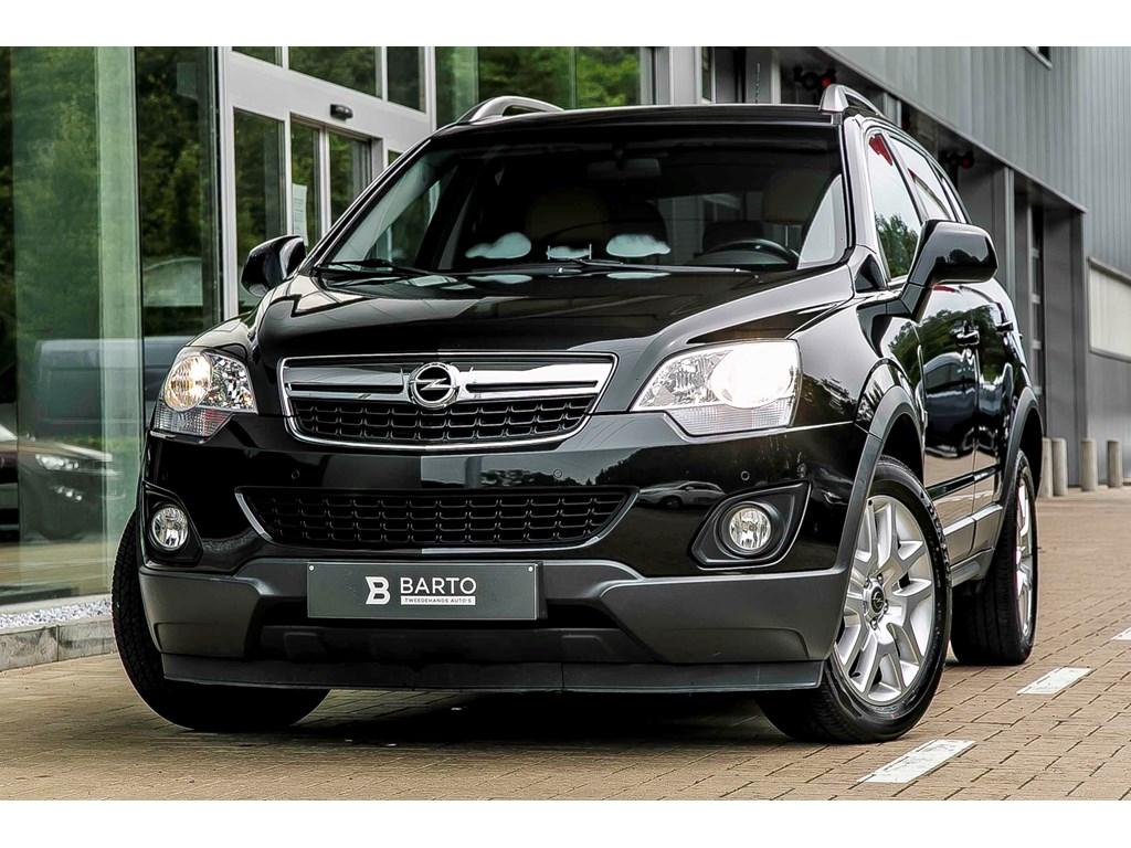 Tweedehands te koop: Opel Antara Zwart - 22d - Leder - Navi - Auto Airco - Verwarmde zetels -