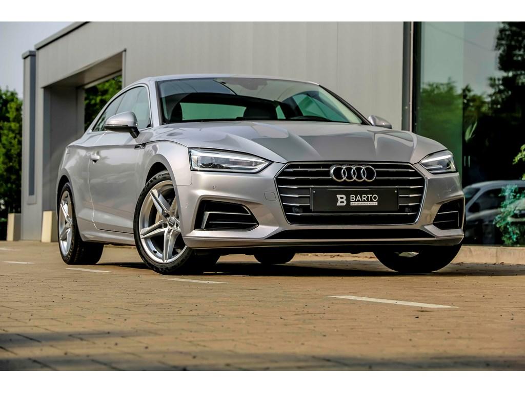 Audi-A5-New-Zilver-190pk-Sport-Lederalcantara-MMI-plus-Camera