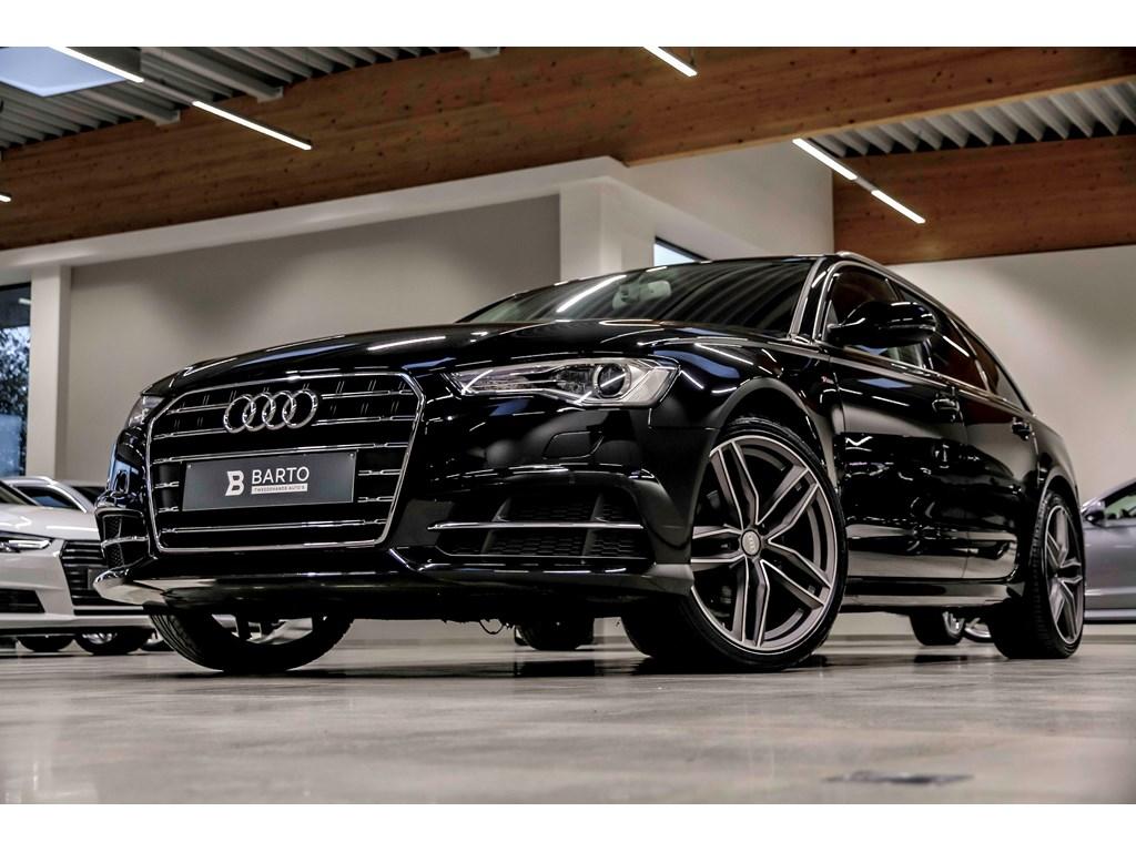 Tweedehands te koop: Audi A6 Zwart - S line - 190pk - Sportzetels - Privacy - Electr koffer