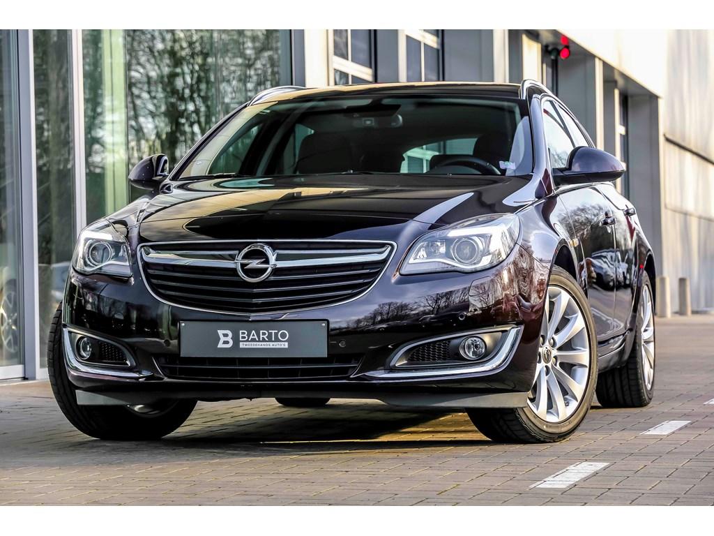Tweedehands te koop: Opel Insignia Bruin - 16T 170pk - Xenon - Lederen sportzetels - Camera - Weinig kms