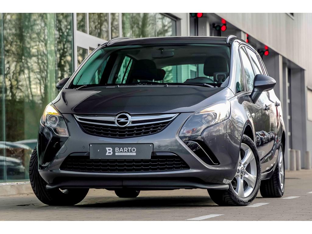 Tweedehands te koop: Opel Zafira Tourer Grijs - 20d 130pk - Navi - Airco - Bluetooth - 1 jaar volledige garantie -