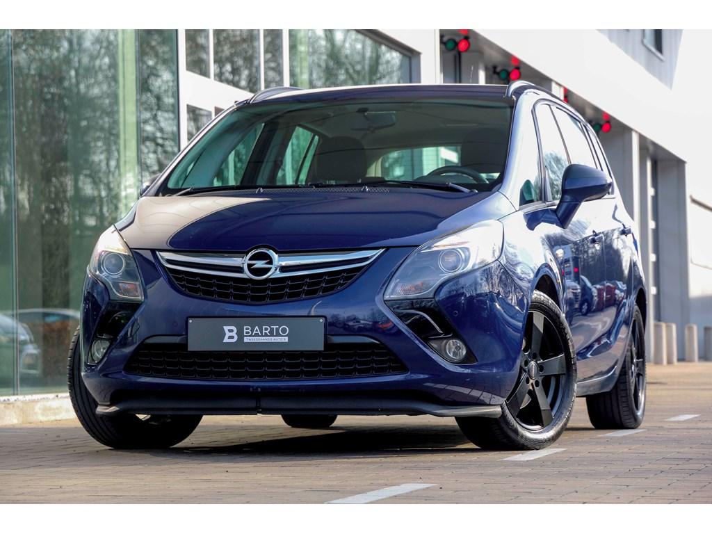 Tweedehands te koop: Opel Zafira Tourer Blauw - 14b 120pk - Airco - Cruisectrl - Bluetooth -