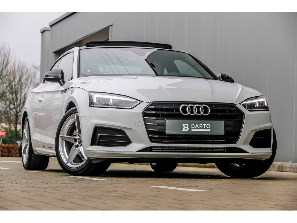 Tweedehands te koop: Audi A5 New Wit - 20 TFSI190pk - Pano dak - Shadow line - Full LED - Virt Cockpit