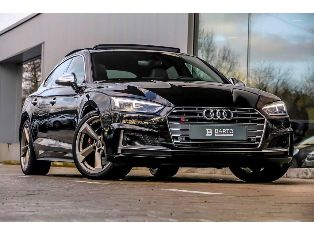Tweedehands te koop: Audi S5 Zwart - Sportback - BO - matrix - Pano dak - RS zetels - Sportdiffer -