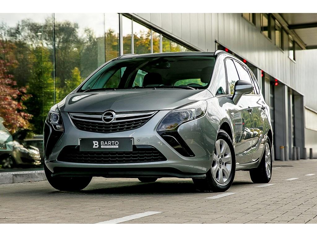 Tweedehands te koop: Opel Zafira Tourer Zilver - 20d 110pk - Airco - Parkeersens - Trekhaak -