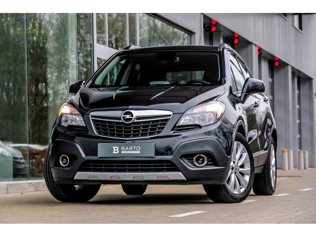 Tweedehands te koop: Opel Mokka Zwart - 14b 140pk - Leder - Navi -Camera - Afn Trekhaak - Weinig kms