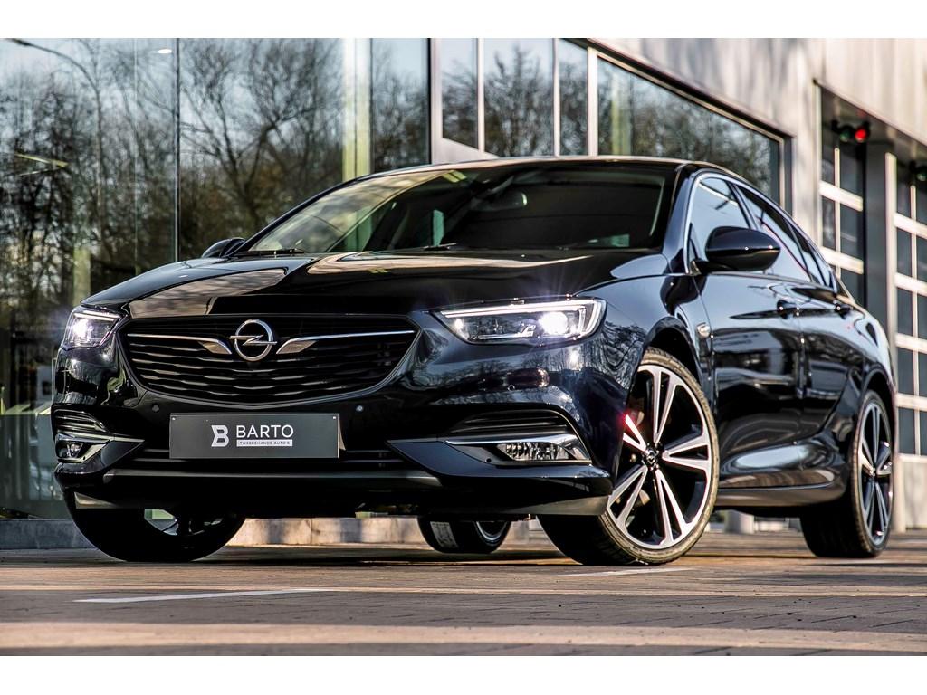 Tweedehands te koop: Opel Insignia Blauw - Grand Sport - Matrix - 20 Bicolor wielen - Lederen sportzetels - Demo