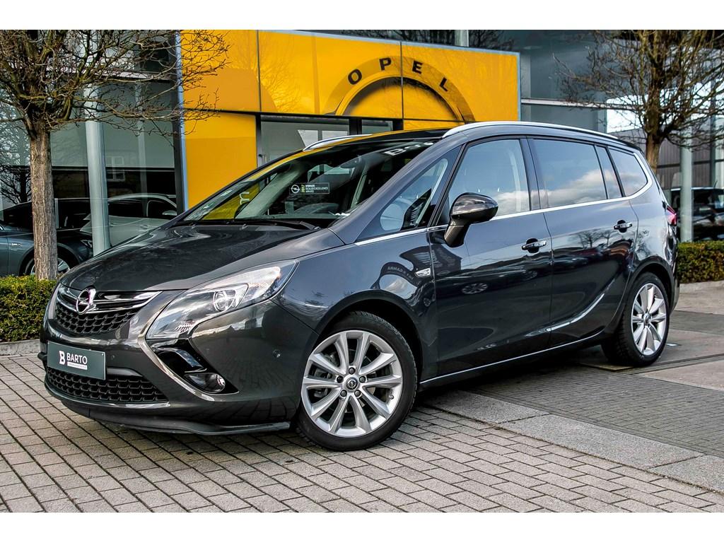 Tweedehands te koop: Opel Zafira Tourer Anthraciet - 16d 136pk - Camera - Navigatie - Auto Airco - trekhaak -