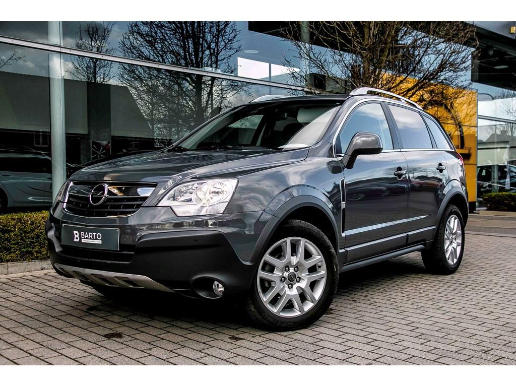 Tweedehands te koop: Opel Antara Grijs - 20d 127pk - Lederverwarmd - Open dak - Auto Airco - trekhaak -