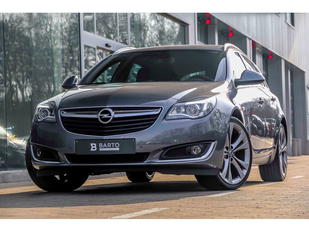 Tweedehands te koop: Opel Insignia Grijs - 16d 136pk - OPC line - 20 - Xenon - Cosmo - Lederen sportzetels