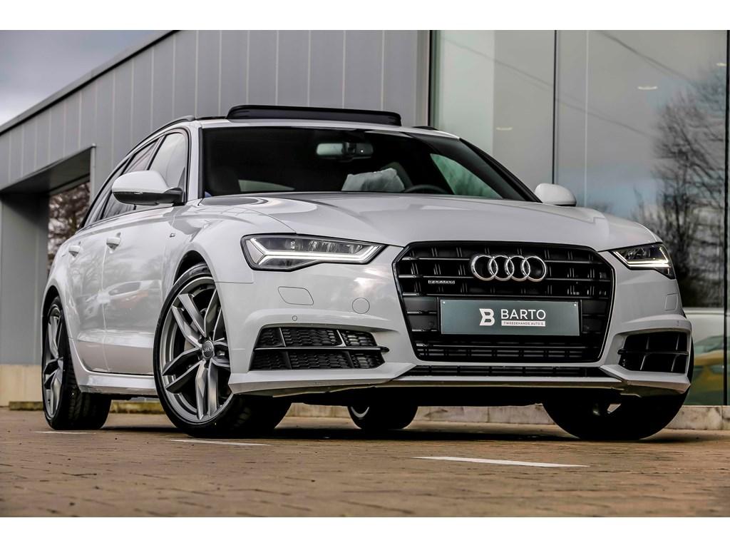 Tweedehands te koop: Audi A6 Wit - V6 272pk - Shadow line - RS zetels - Pano - 20 Bicolor - Nieuw