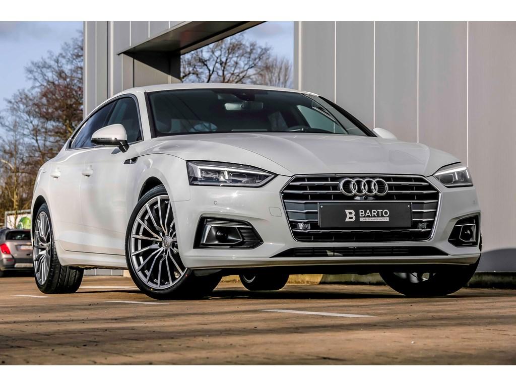 Tweedehands te koop: Audi A5 New Wit - Sportback - Full LED - Adapt CC - 360 Camera - Lane Assist - 19