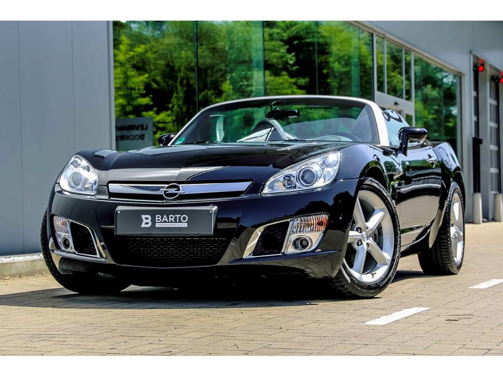Tweedehands te koop: Opel GT Zwart - 20b 264pk - Leder - Airco - 1 jaar volledige garantie