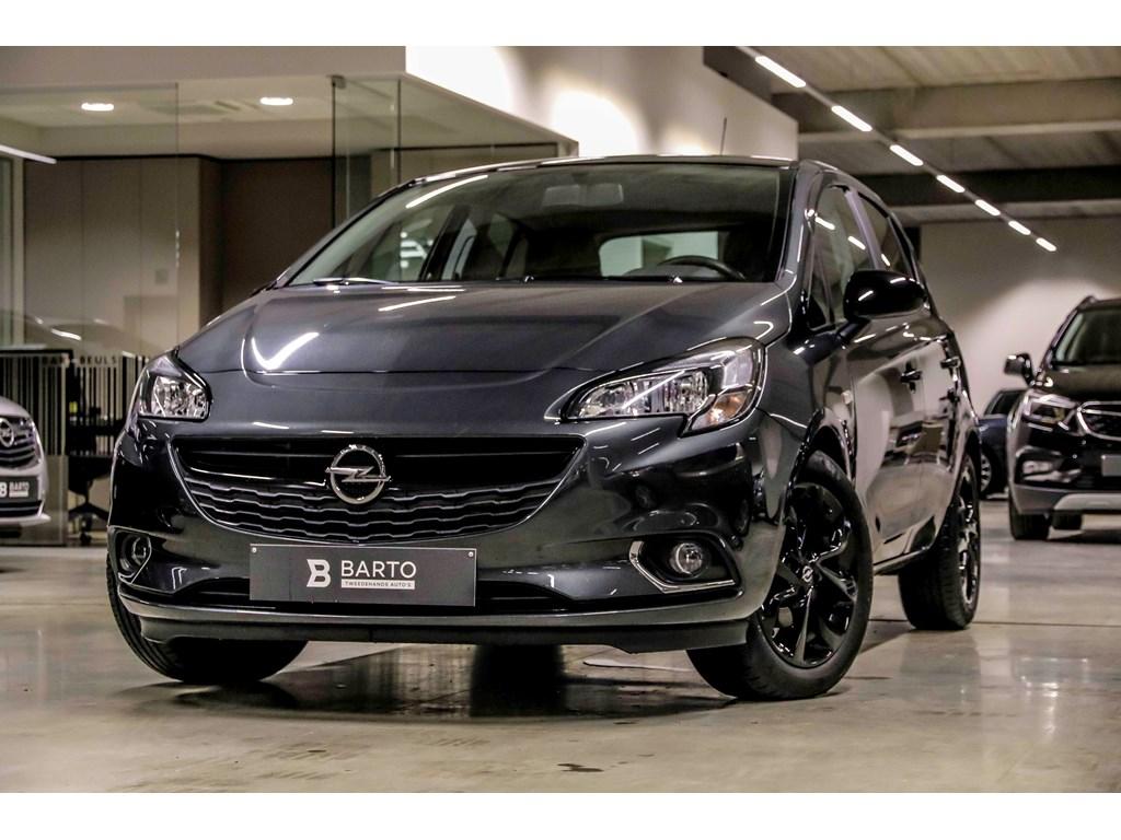 Tweedehands te koop: Opel Corsa Grijs - 5-Deurs Black Edition 14 Benz 90pk - intellilink Radio - Weinig Kms