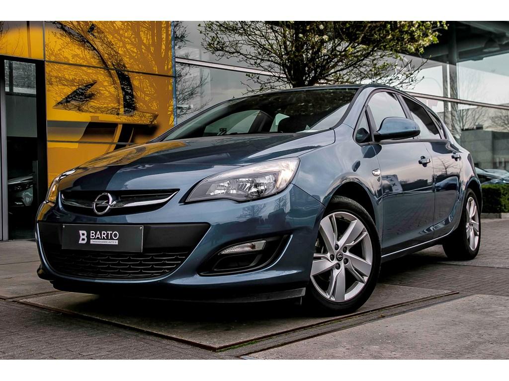 Tweedehands te koop: Opel Astra Blauw - 14b 100pk - Airco - Parkeersens achter - Cruisectrl - 1 jaar volledige garantie -