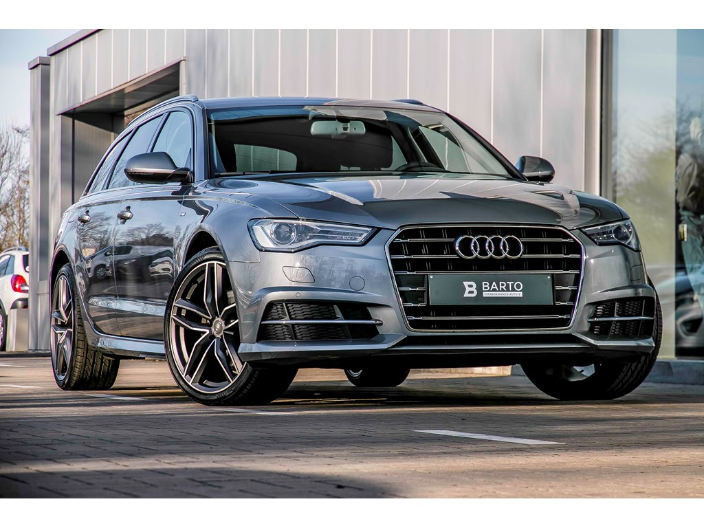Audi-A6-Grijs-S-line-190pk-Sportzetels-Privacy-Electr-koffer