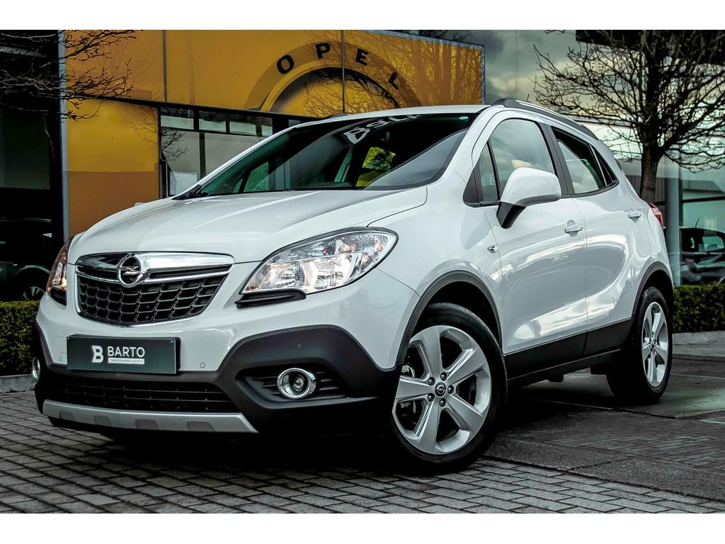Tweedehands te koop: Opel Mokka Wit - 17d 130pk - Camera - Navi - Airco - Bluetooth -
