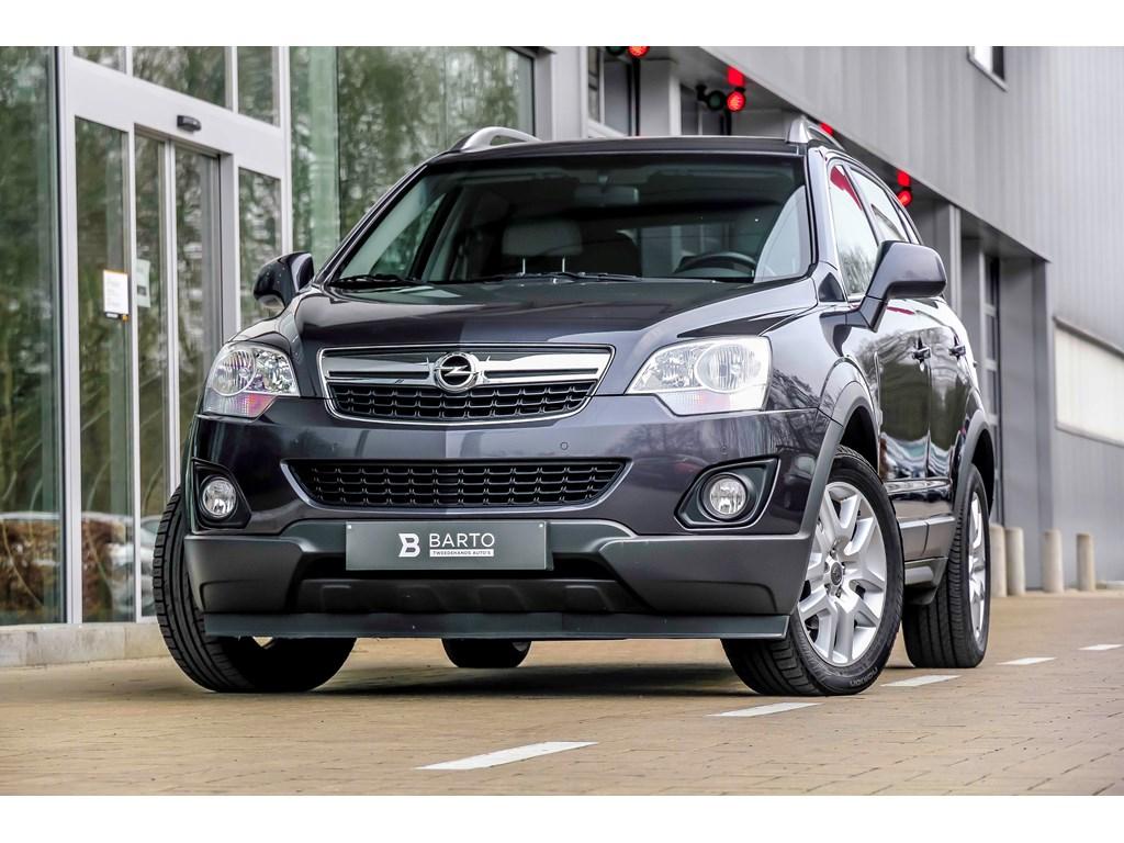 Tweedehands te koop: Opel Antara Grijs - 22d 163pk - Leder - Auto airco - Navi - Bluetooth -