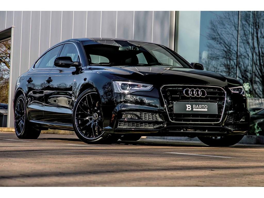 Tweedehands te koop: Audi A5 Zwart - 190pk S-tronic Quattro - Full S line - 19 wielen - LED