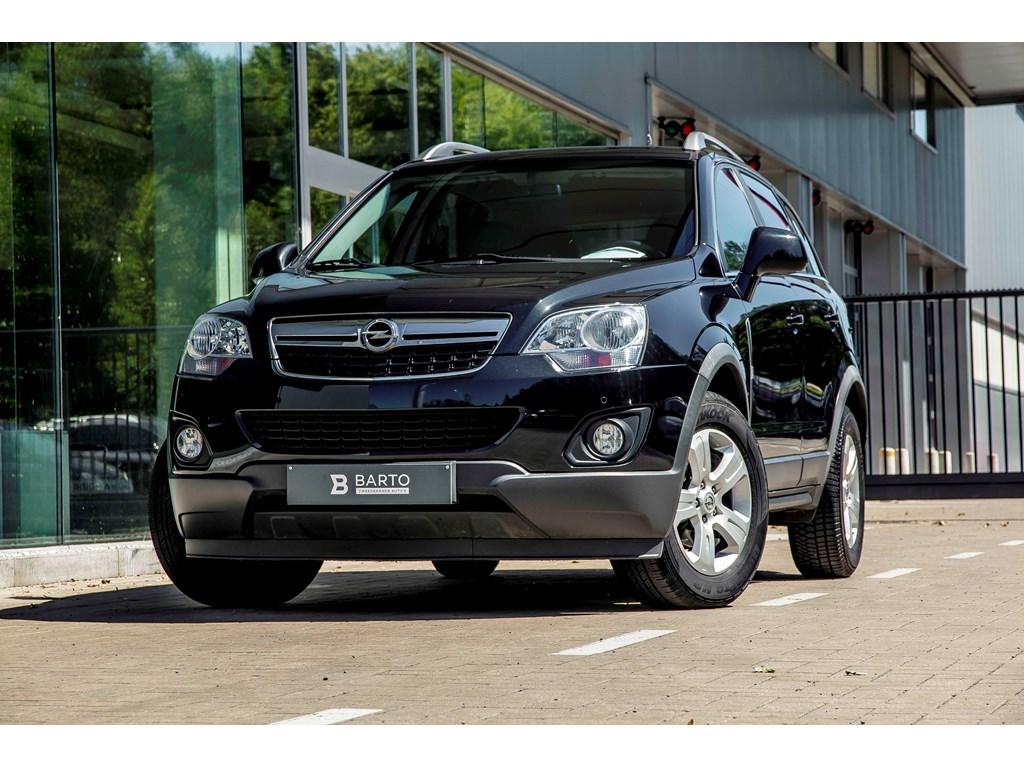 Tweedehands te koop: Opel Antara Zwart - 22d 163pk - Navigatie - Auto Airco - Leder - Bluetooth -