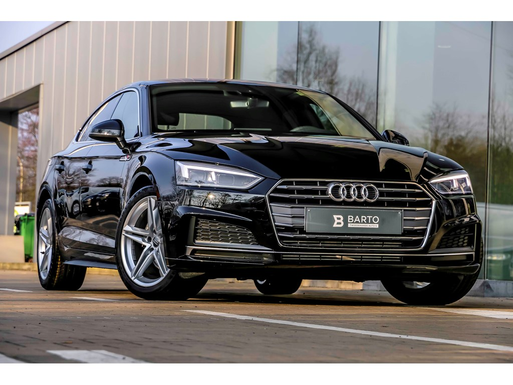 Tweedehands te koop: Audi A5 New Zwart - 20 TFSI Ultra 190pk - Full S line - Virt Cockpit - Full Led - Privacy