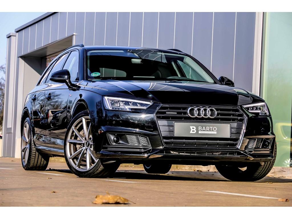 Audi-A4-Zwart-V6-272pk-Quattro-Matrix-Shadow-Line-19-ACC-Leder