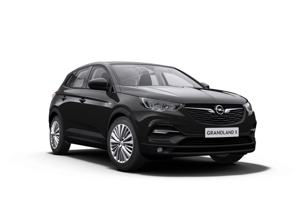 Tweedehands te koop: Opel Grandland X Zwart - 12 Benz 130pk Automaat 6 Edition - Nieuw - Navigatie - Parkeersensoren -