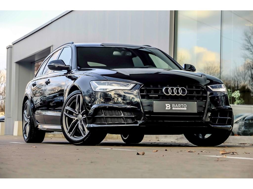 Audi-A6-Zwart-Quattro-RS-zetels-Matrix-Bose-Shadow-line-20-RS-NIEUW
