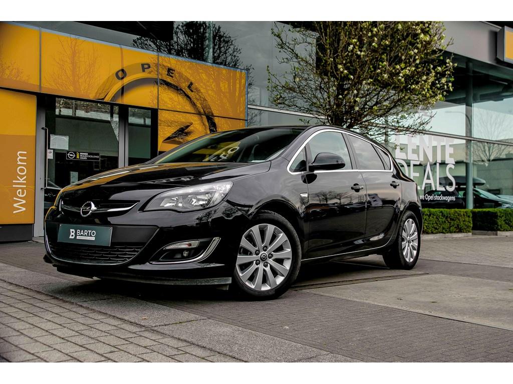 Tweedehands te koop: Opel Astra Zwart - 16d 110pk - Navi - Auto Airco - Cruisectrl - Weinig kms