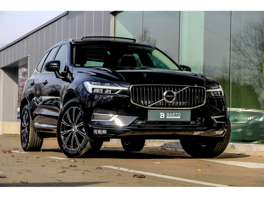 Tweedehands te koop: Volvo XC60 Zwart - T5 AWD 250pk Inscription - Pano Dak - Vol leder - Off Lane - Demo