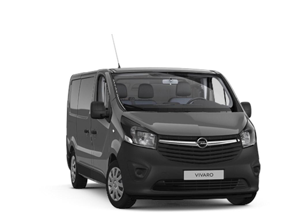 Tweedehands te koop: Opel Vivaro Grijs - Gesloten Bestelwagen Edition 16 CDTi 125pk man 6 L1H1 - MTM 2700 - 3pl - Lichte vracht - Nieuw