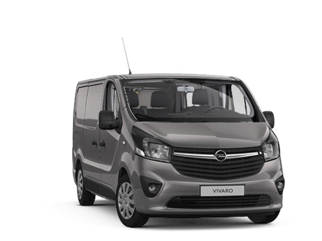 Tweedehands te koop: Opel Vivaro Grijs - Gesloten Bestelwagen Sportive 16 CDTi 125pk man 6 L1H1 - MTM 2700 - 3pl - Lichte vracht - Nieuw