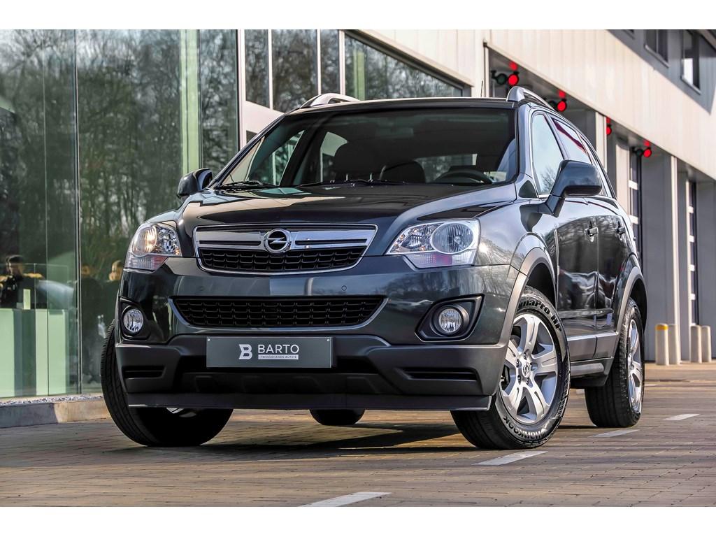 Tweedehands te koop: Opel Antara Grijs - 20d 170pk - Navi - Auto Airco - Trekhaak - Leder -