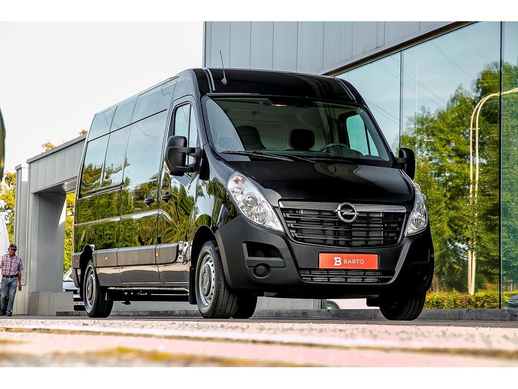 Tweedehands te koop: Opel Movano Zwart - Gesloten bestelw 23 CDTi BiTurbo 145pk L3H2 FWD -23966 Euro BTW 28999 BTW incl - Nieuw
