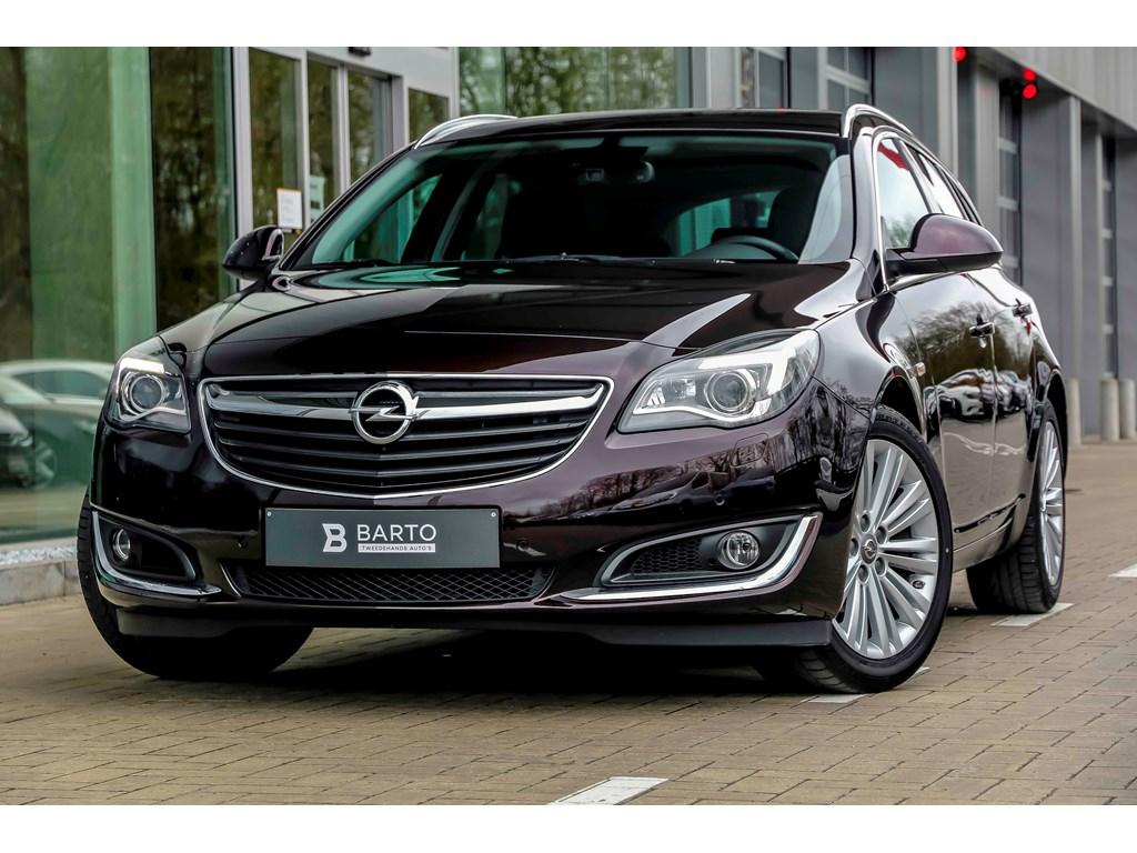 Opel-Insignia-Bruin-16d-136pk-Navi-Auto-Airco-Xenon-Erg-Leder-