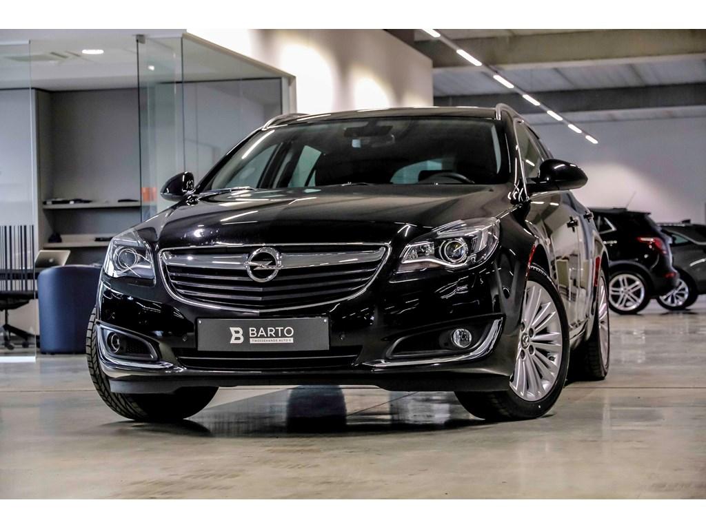 Tweedehands te koop: Opel Insignia Zwart - 16d 136pk - Automaat - Xenon - Leder - Auto Airco -