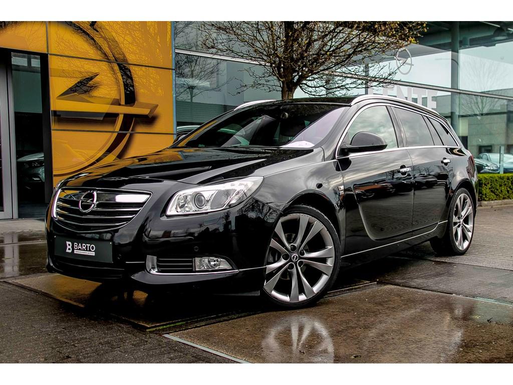 Tweedehands te koop: Opel Insignia Zwart - 20d 130pk - Erg Leder - Navi - Auto Airco - Xenon - 20 -