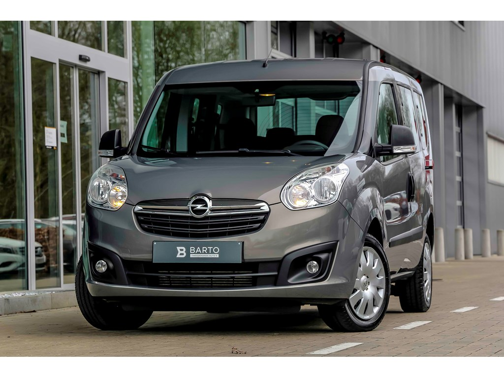 Tweedehands te koop: Opel Combo Bruin - 16d 90pk - 7zit - Airco - RadioCD - 1 jaar volledige garantie -