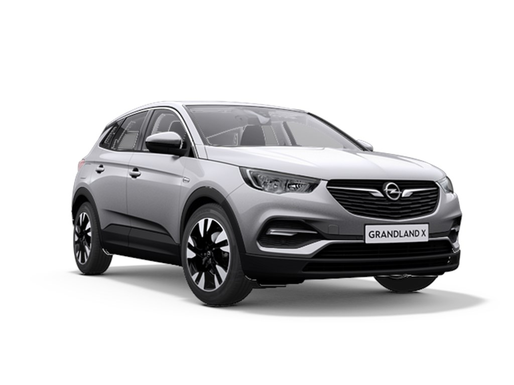 Tweedehands te koop: Opel Grandland X Grijs - 12 Benz 130pk Automaat 6 Innovation - Nieuw - Navigatie - Parkeersensoren - Elektr koffer -