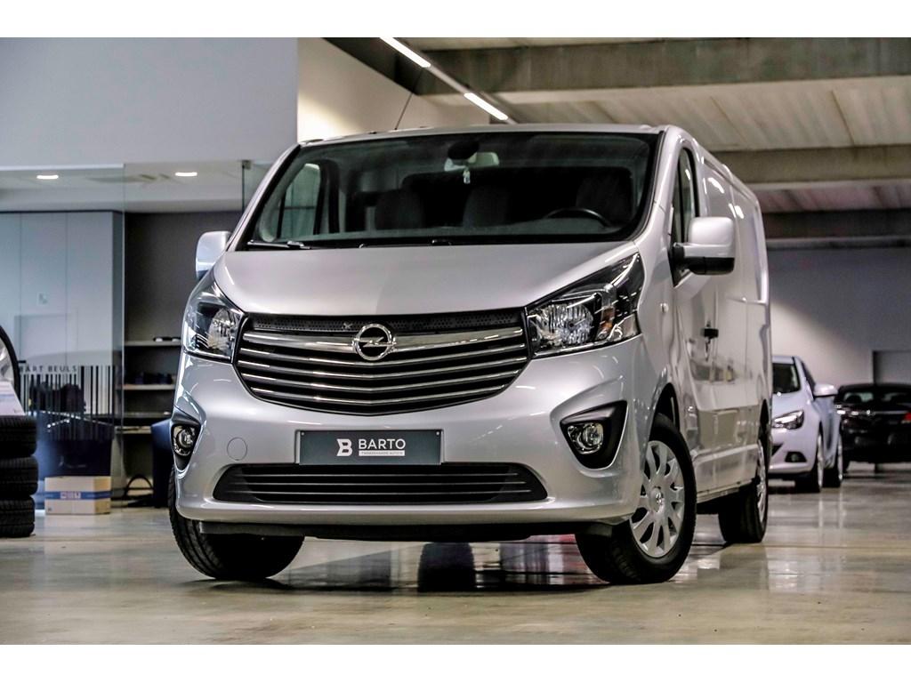 Tweedehands te koop: Opel Vivaro Zilver - 16d 140pk - L2H1 - Airco - Trekhaak - Navi - Leder - Cruisectr -