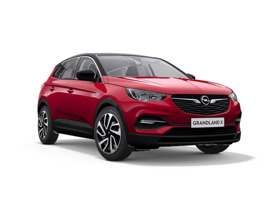 Tweedehands te koop: Opel Grandland X Rood - 12 Benz 130pk Automaat 6 Innovation - Nieuw - Navigatie - Parkeersensoren - Elektr koffer -